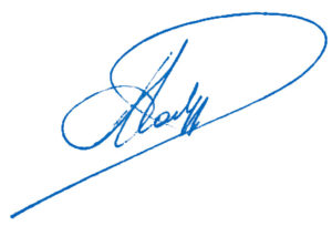 Handtekening Anne Vanderstappen
